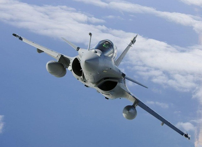 Dassault Rafale Fighter Aircraft - Winner of India's Medium Multi-Role Combat Aircraft [MMRCA] acquisition program
