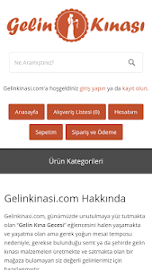 Gelinkinasi.com screenshot 2
