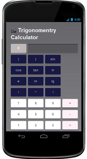 Trigonomentry Calculator