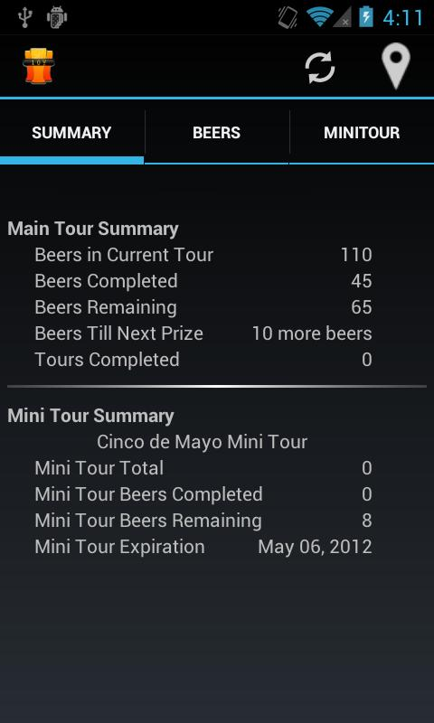 Beer Tour- screenshot
