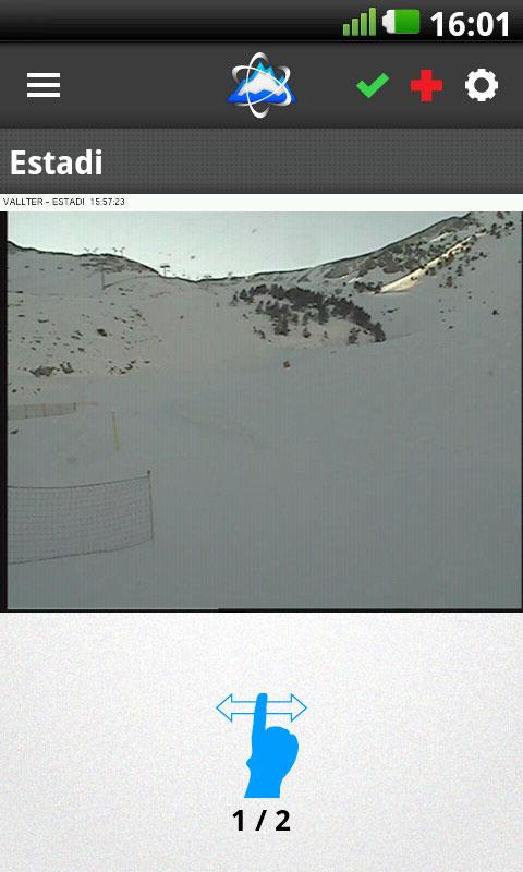 SKITUDE Webcams - screenshot