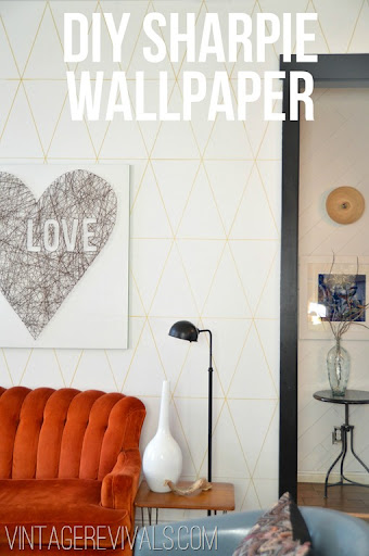 Home Decor Ideas: DIY Sharpie Walls