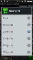 Screenshot of Golf GPS Anywhere