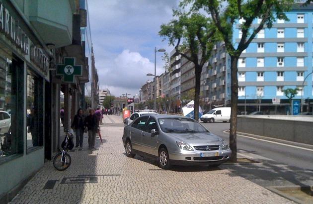 Ciclovia na Avenida da Liberdade