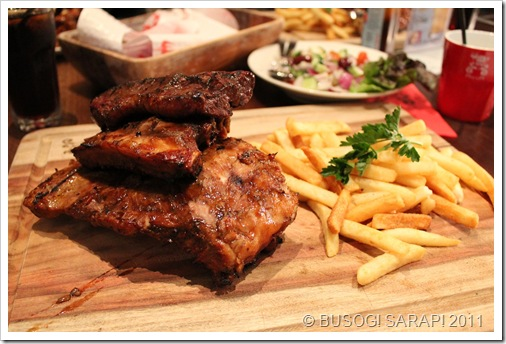 BUSOG! SARAP!: RIBS AND RUMPS – MARINA MIRAGE, MAIN BEACH QLD