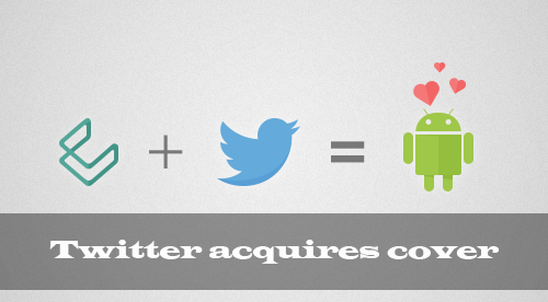 twitter acquires cover