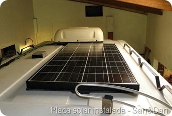 Feliz Motor Home Instala 231 227 O De Placa Solar