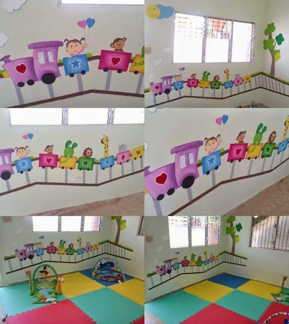 Murales Creativos Heidy Guerrero Decoración Guardería Infantil