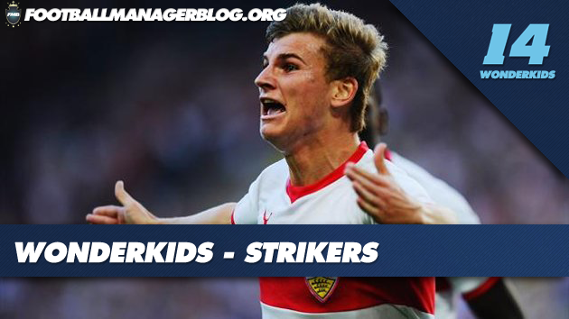 FM 2014 Wonderkids Strikers