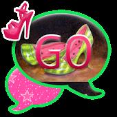 GO SMS THEME/GirlyFruit