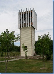 2391 North Dakota USA & Manitoba Canada - International Peace Garden - Bell Tower