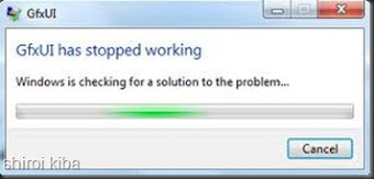 "Cara mengatasi ""GFxUI has stopped working""."