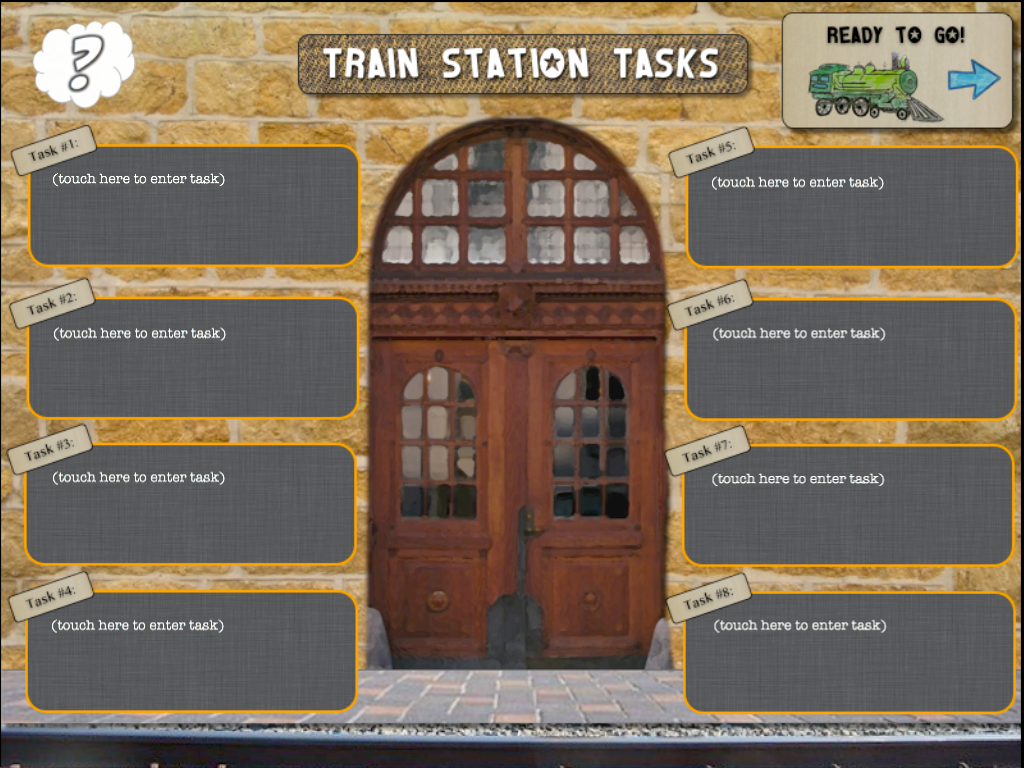 Train Station Tasks - screenshot
