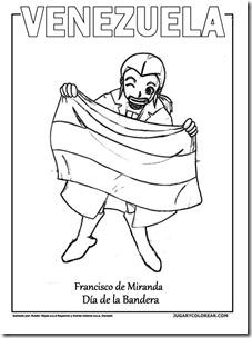 Colorear Día De La Bandera Venezuela Category