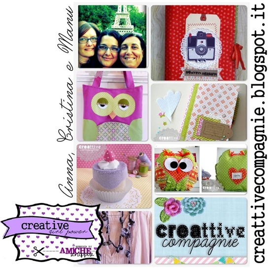 amiche scrappose_creative girl power - creattive compagnie