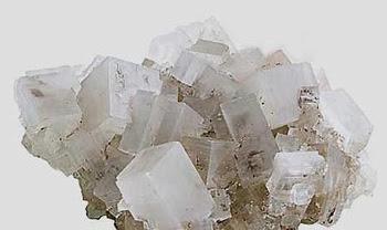 Sale marino cristalli ingranditi