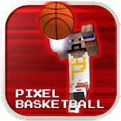 Pixel Basketball - Flick Ball