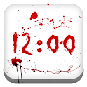 Bleeding Clock for Gear Fit icon