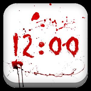 Bleeding Clock for Gear Fit APK