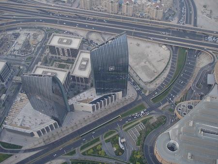 Obiective turistice Dubai: imagini din Burj Khalifa