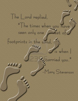 Footprints In The Sand Quote 3 Quotes Links