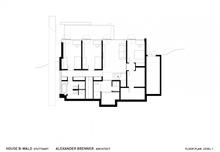 plano-casa-B-Wald-house-Alexander-Brenner-Architects