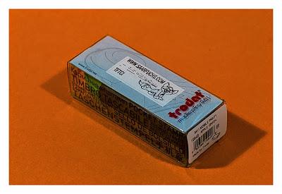 Geocaching-Stempel-Test: Mobiler Taschenstempel von Trodat - Verpackung