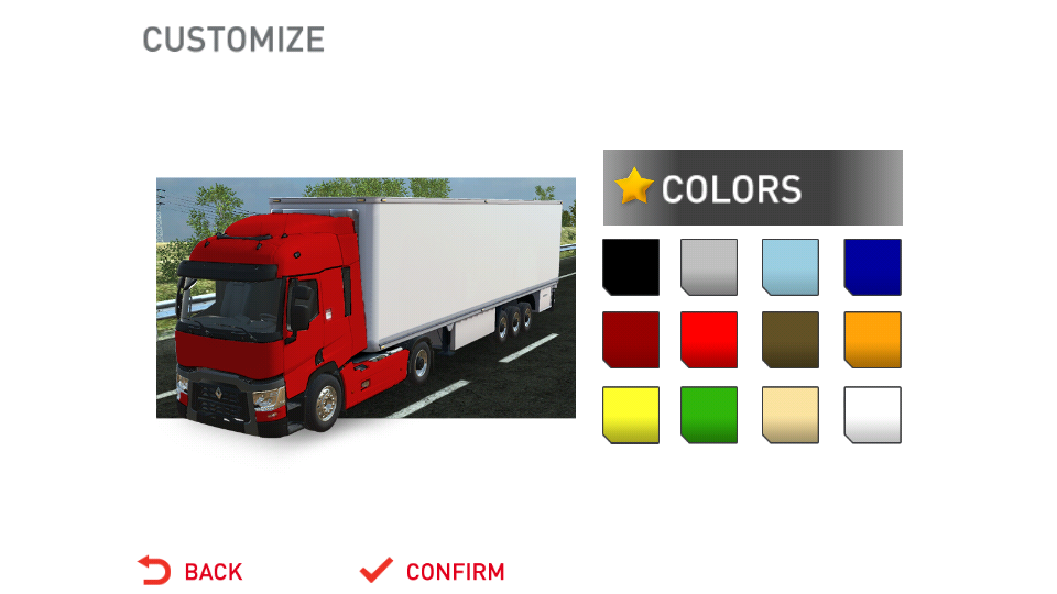 TruckSimulator- screenshot