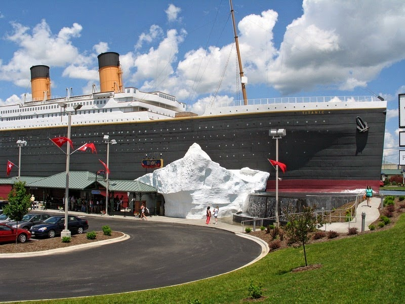 El Museo Del Titanic En Branson Destino Infinito