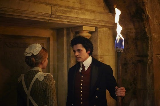 Mella Carron and Aneurin Barnard in The Adventurer