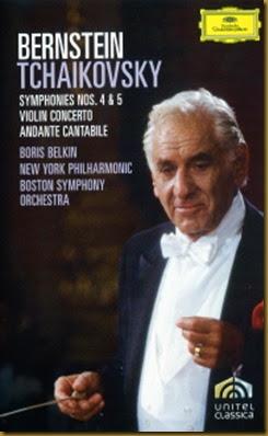 Tchaikovsky 4 Bernstein DVD DG