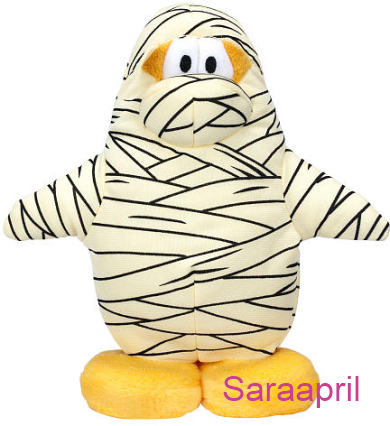 Club Penguin 6.5 Inch Plush – Mummy :)