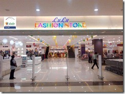 Lulu Shopping Mall fashion