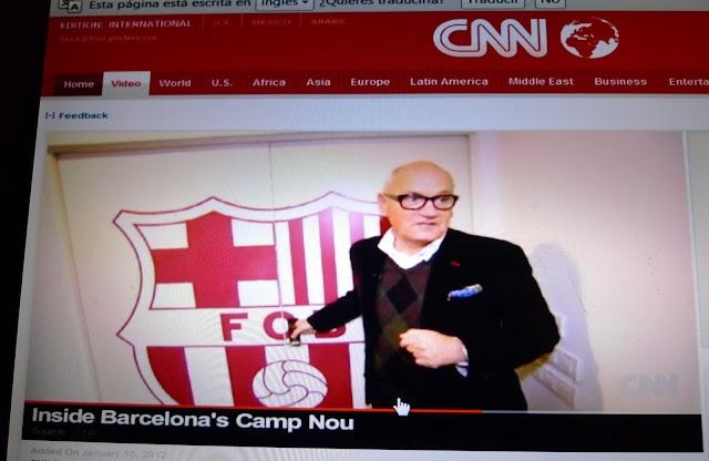 La CNN, al vestuari del Barça