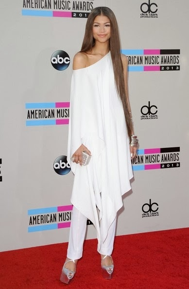 Zendaya Coleman Arrivals American Music Awards