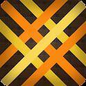 Baubles, bias wickerwork icon