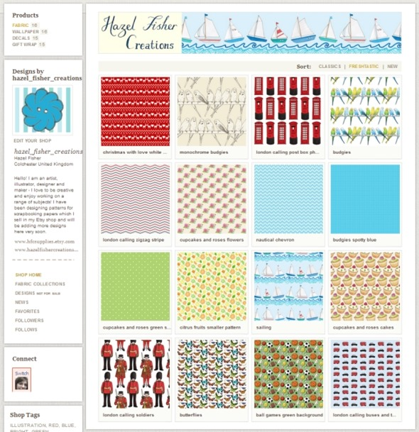 2014Jan24 spoonflower free fabric swatch my shop
