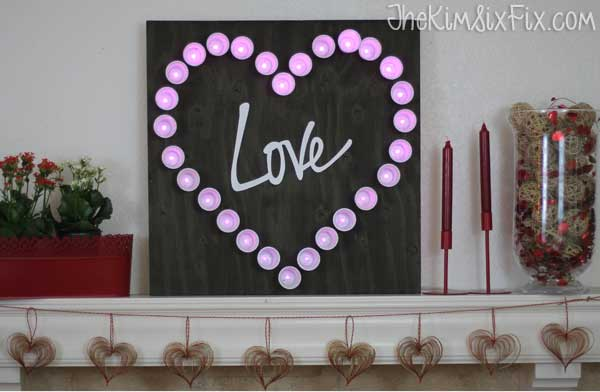 Love Marquee light