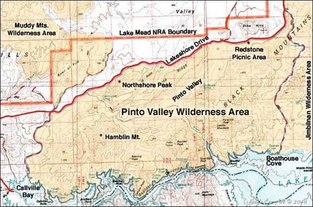 MAP-Pinto Valley Wilderness Area