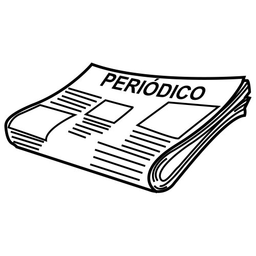Dibujos De Periodicos Para Colorear