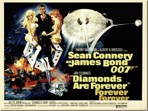 Affiche cinéma de James Bond (7)