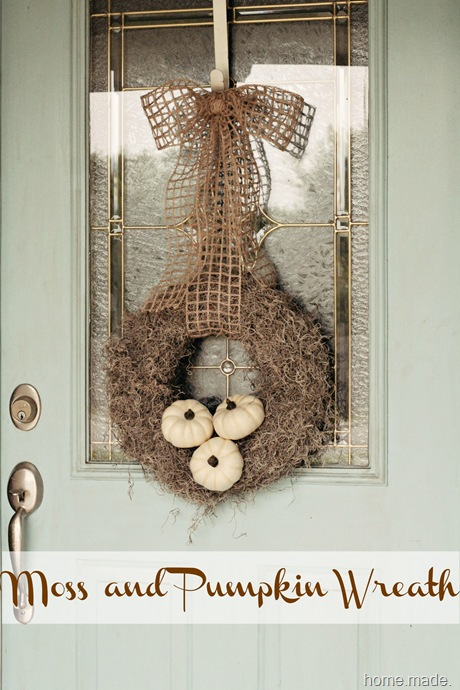 moss pumpkin wreath 1
