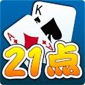拇指21点 logo