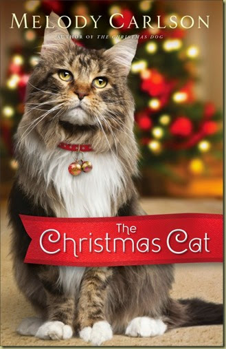The Christmas Cat by Melody Carlson cover