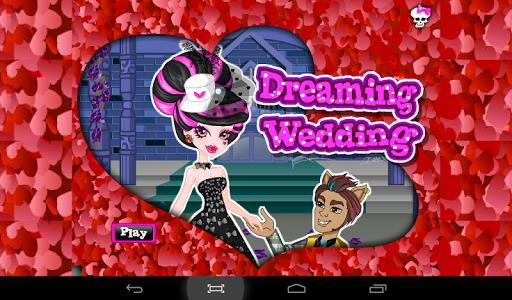 怪物婚禮裝扮遊戲