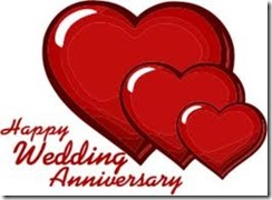 happy wedding anniv