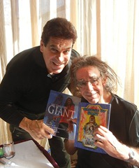 Hulk Chewie Chewbacca Lou Ferrigno Peter Mayhew taken by North Texas Comic Book Show