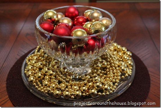 ornaments in a bowl