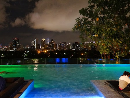 Spa Thailanda:. Infinity pool So Sofitel Bangkok