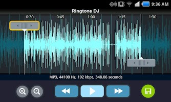 Screenshot of Ringtone Maker Free
